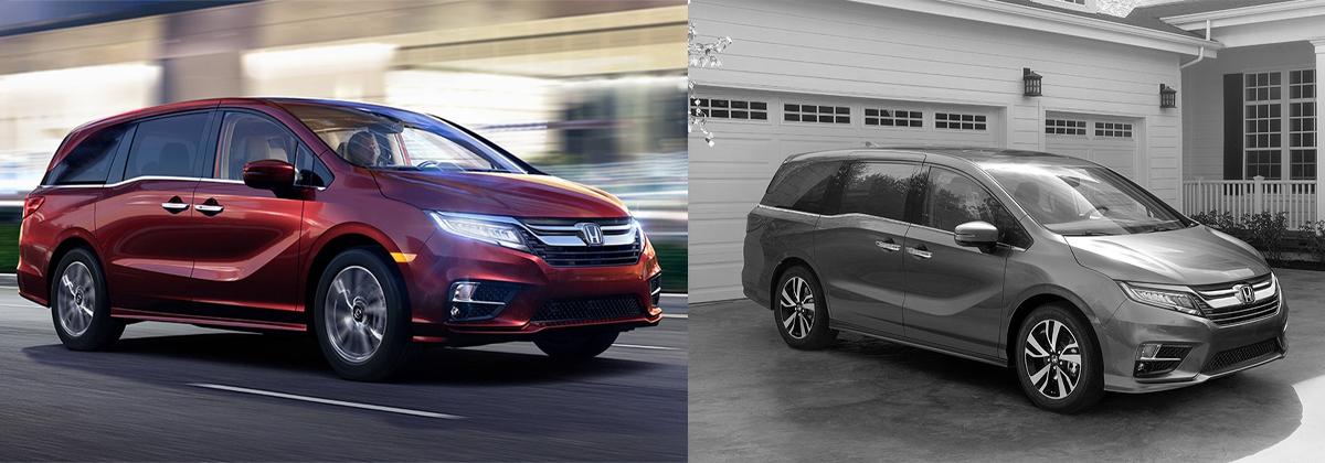 2020 Honda Odyssey vs 2019 Honda Odyssey - Brad Deery Honda