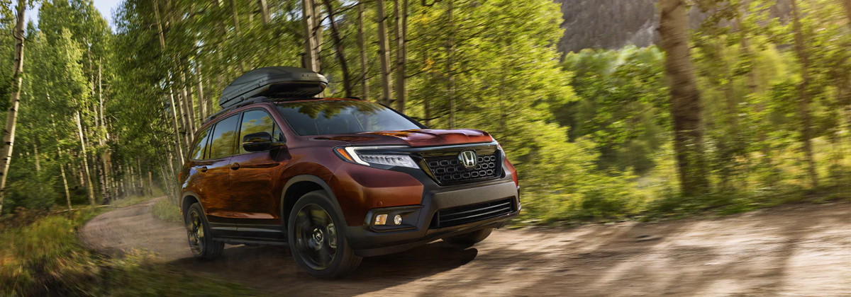 Research the 2020 Honda Passport near Macon GA