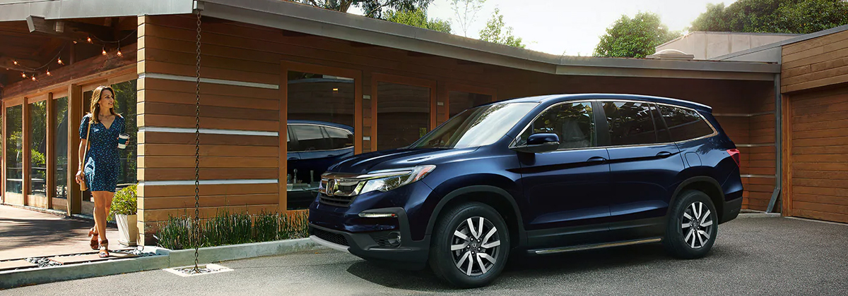 Research trim levels on a 2020 Honda Pilot near Dublin GA