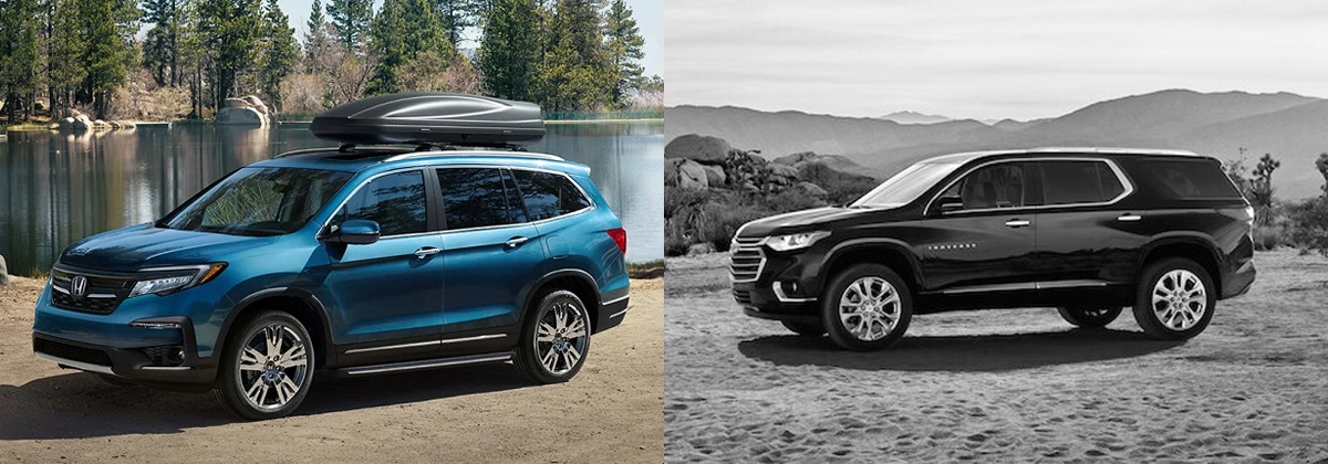 Presenting 2020 Honda Pilot vs 2020 Chevy Traverse in Centennial CO