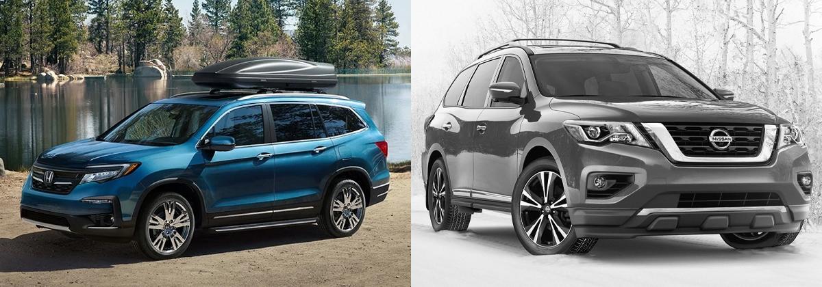Presenting 2020 Honda Pilot vs 2020 Nissan Pathfinder near Macon GA