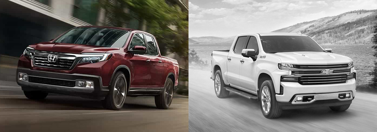 Explore the 2020 Honda Ridgeline vs 2020 Chevy Silverado in Centennial CO