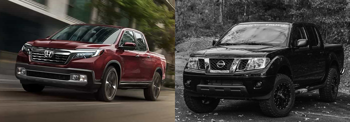 Review the 2020 Honda Ridgeline vs 2019 Nissan Frontier in West Burlington IA