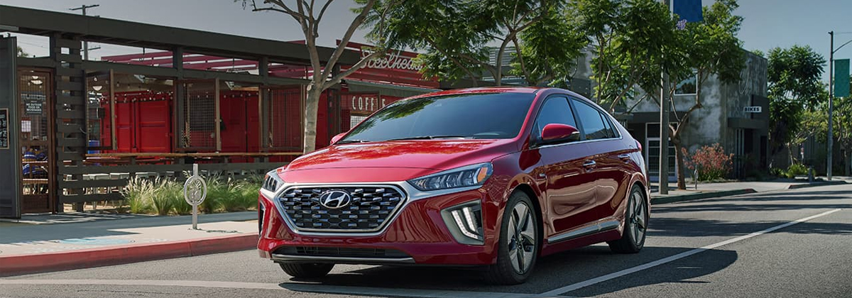 Check out the 2020 Hyundai Ioniq Hybrid near Newport RI