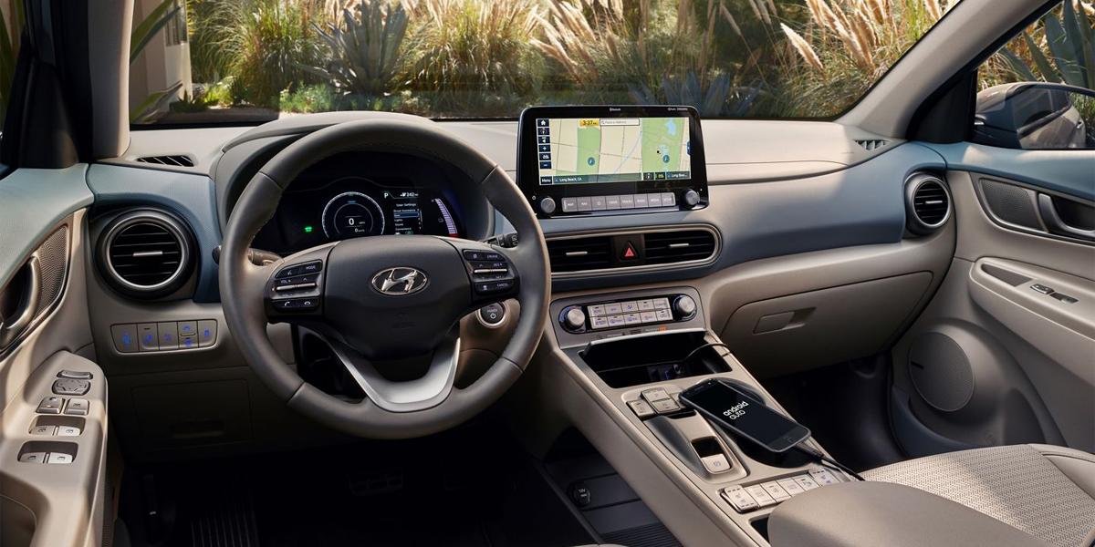 Detroit MI - 2020 Hyundai Kona Electric's Interior