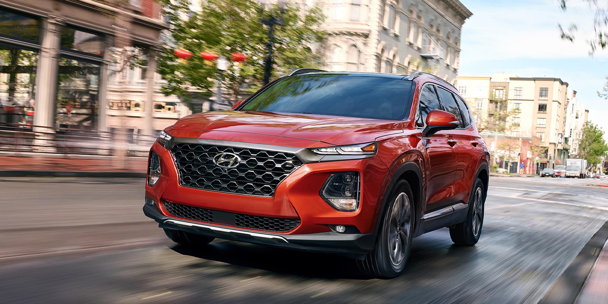 2020 Hyundai Santa Fe near Troy MI remains at the top of the class