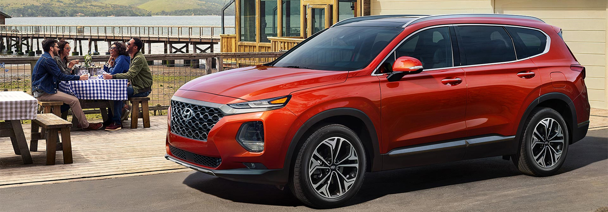 What are the trim levels for the 2020 Hyundai Santa Fe