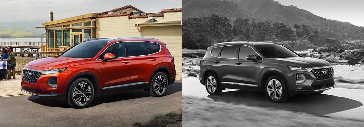 2020 Hyundai Santa Fe vs 2019 Hyundai Santa Fe