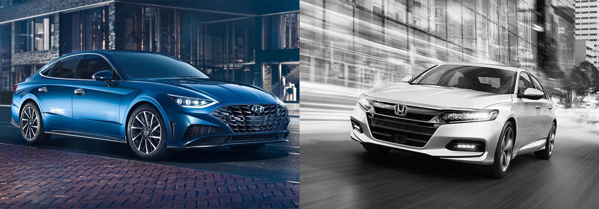 2020 Hyundai Sonata vs 2020 Honda Accord - Metro Detroit MI