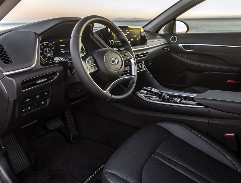 Customer Scout - 2020 Hyundai Sonata Hybrid's Interior