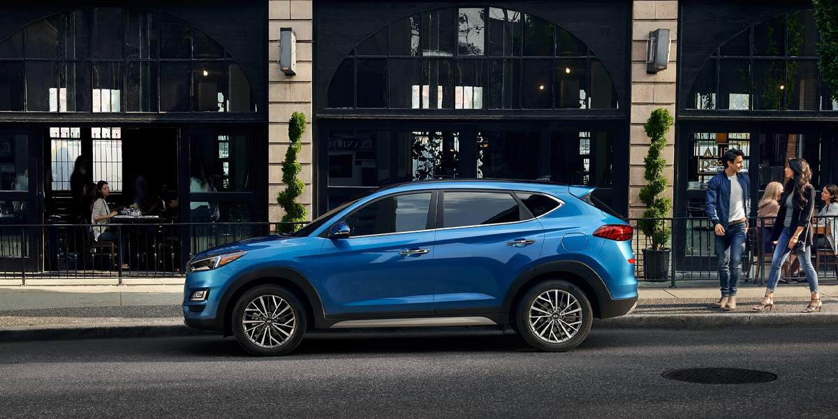 Research trim levels on a 2020 Hyundai Tucson near Newport RI