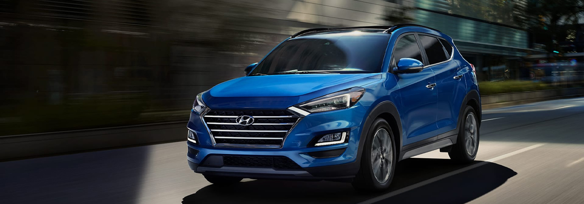 What are the trim levels for the 2020 Hyundai Tucson