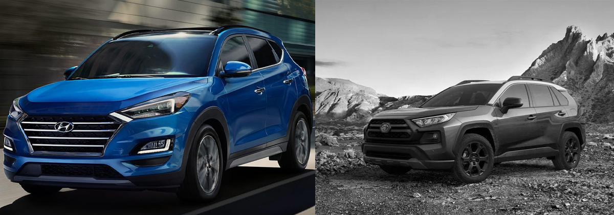 Learn more about the 2020 Hyundai Tucson vs 2020 Toyota RAV4 in Southfield MI