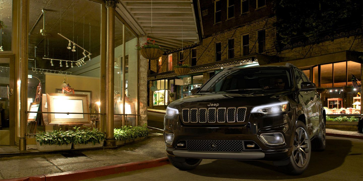City of Industry CA - 2020 Jeep Cherokee's Exterior