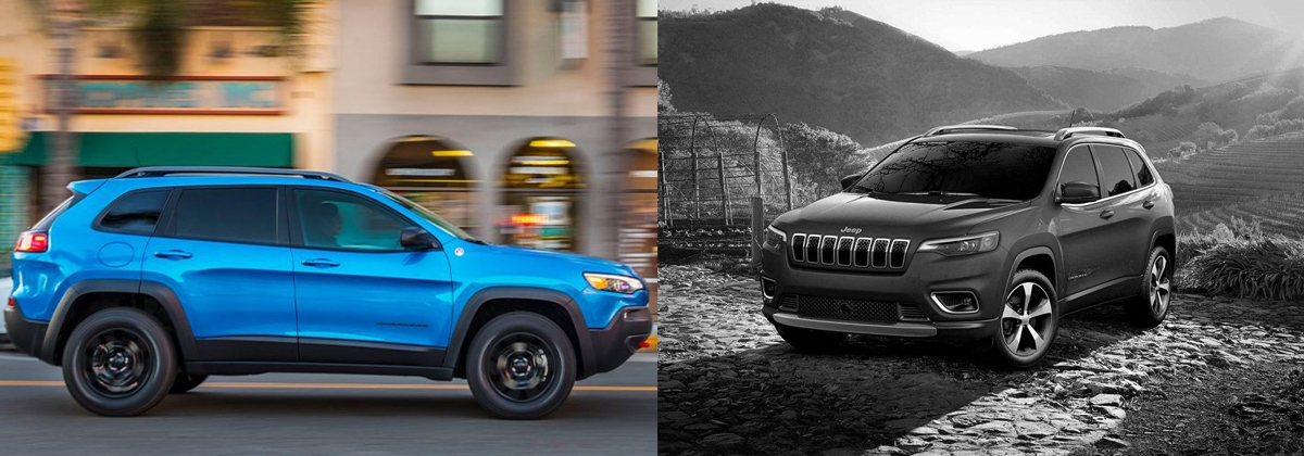Compare 2020 Jeep Cherokee vs 2019 Jeep Cherokee