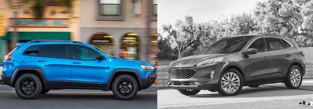2020 Jeep Cherokee vs 2020 Ford Escape in City of Industry CA