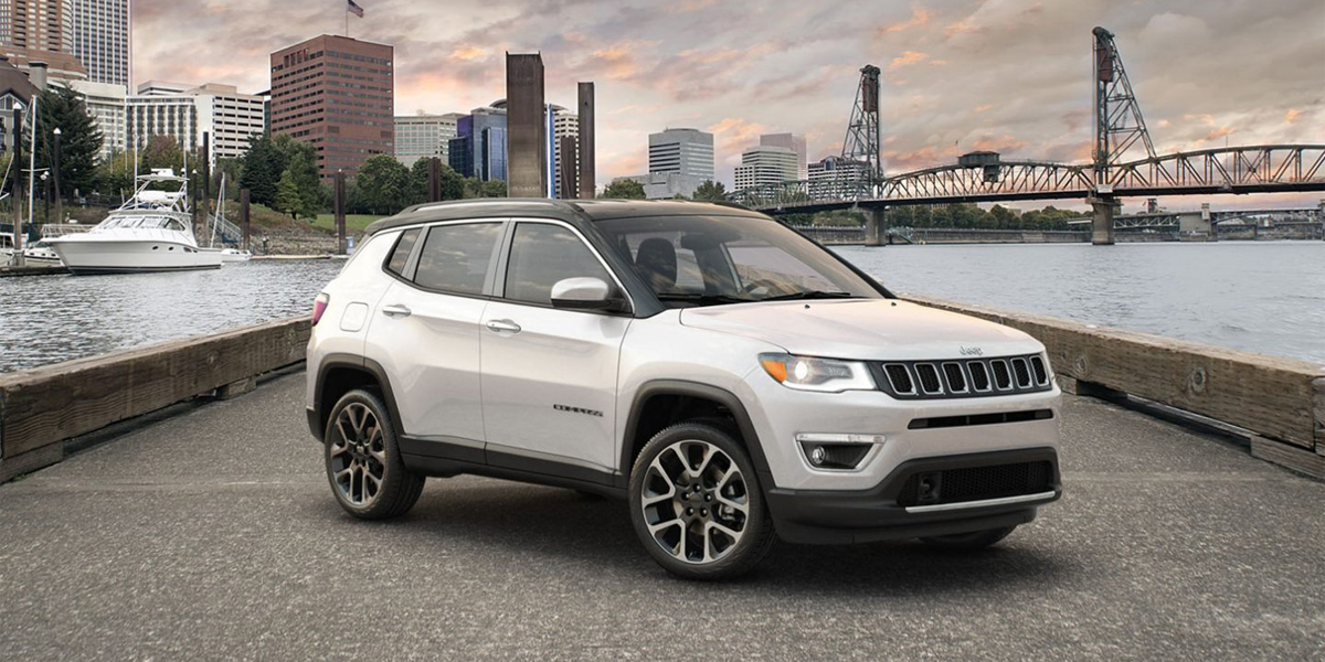 The 2020 Jeep Compass near West Covina is one of those trail rated models