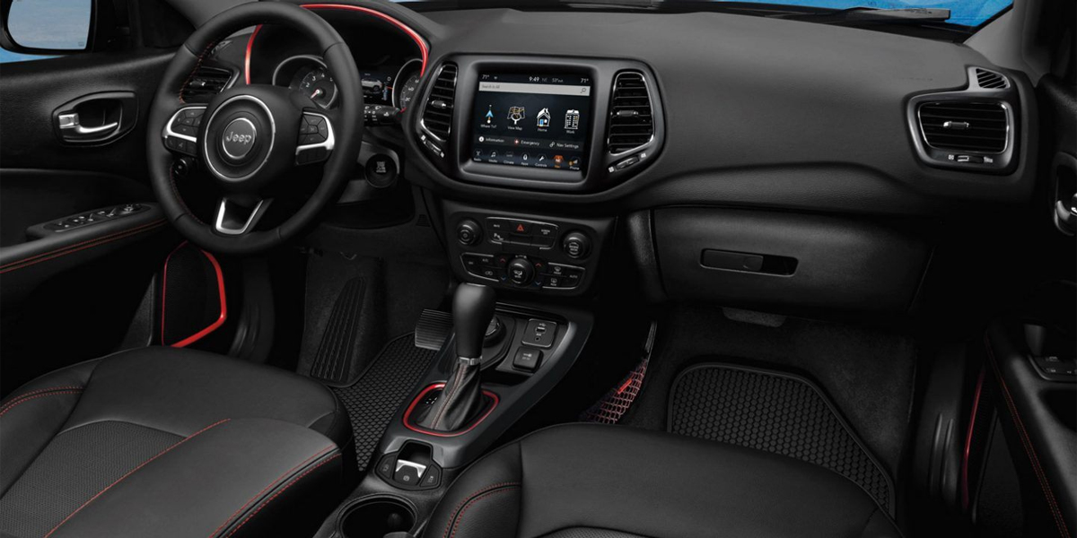 Anaheim CA - 2020 Jeep Compass's Interior