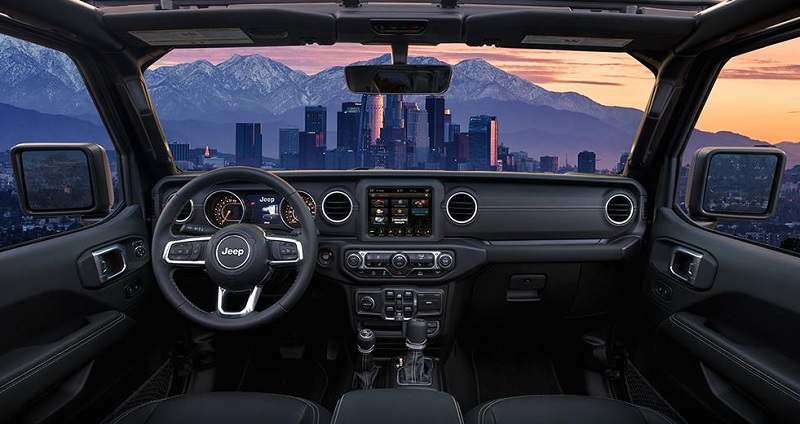 City of Industry CA - 2020 Jeep Gladiator's Interior