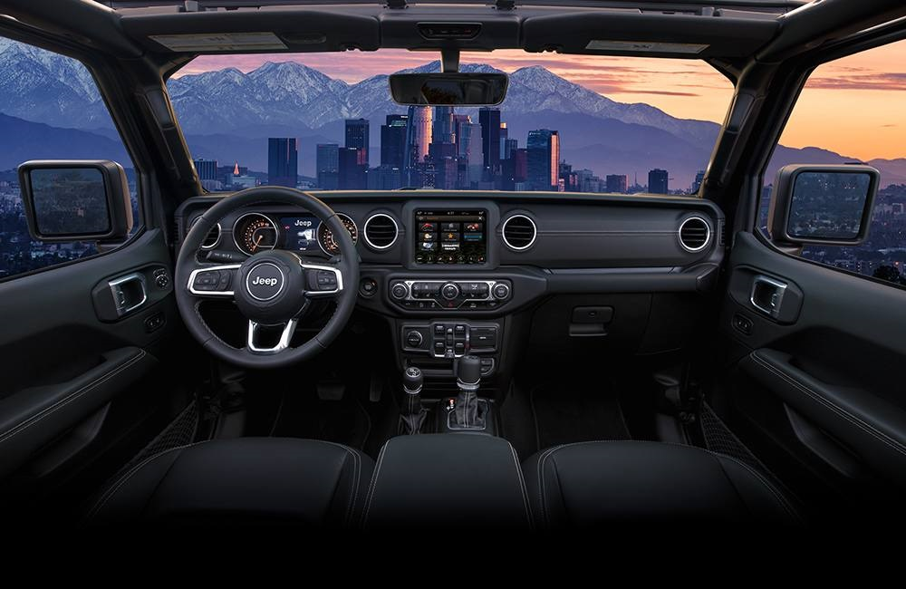Boulder Colorado - 2020 Jeep Gladiator's Interior