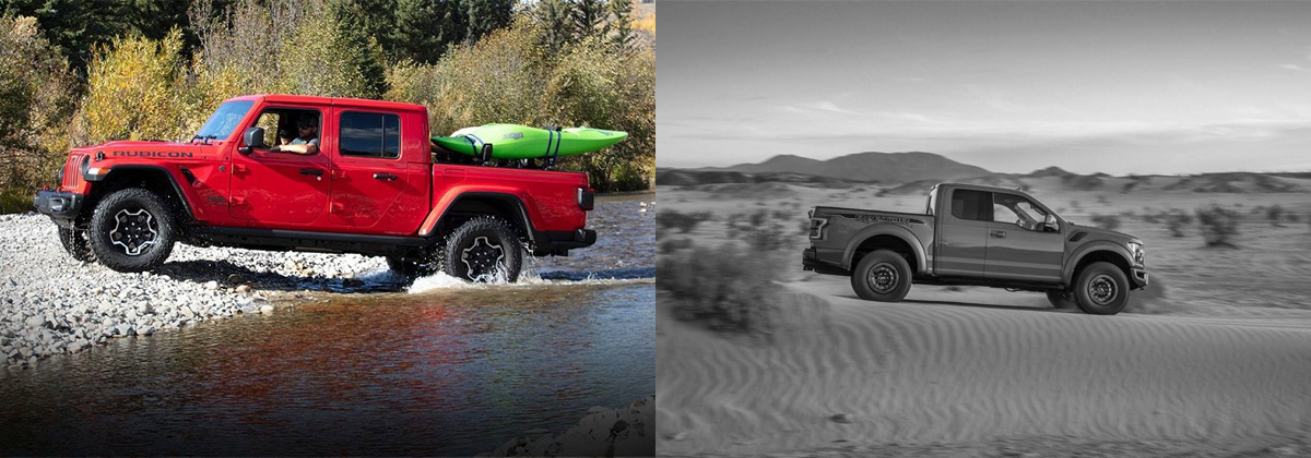 2020 Jeep Gladiator vs 2019 Ford Ranger - Lexington NC