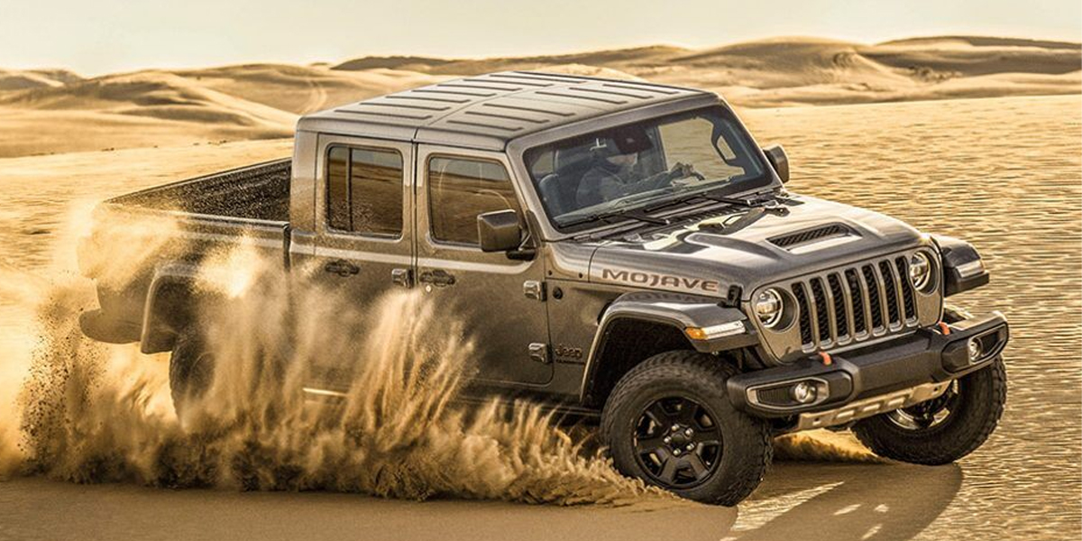 Los Angeles Review - 2020 Jeep Gladiator Mojave's Exterior