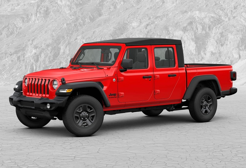 Denver, CO - 2020 Jeep Gladiator Sport