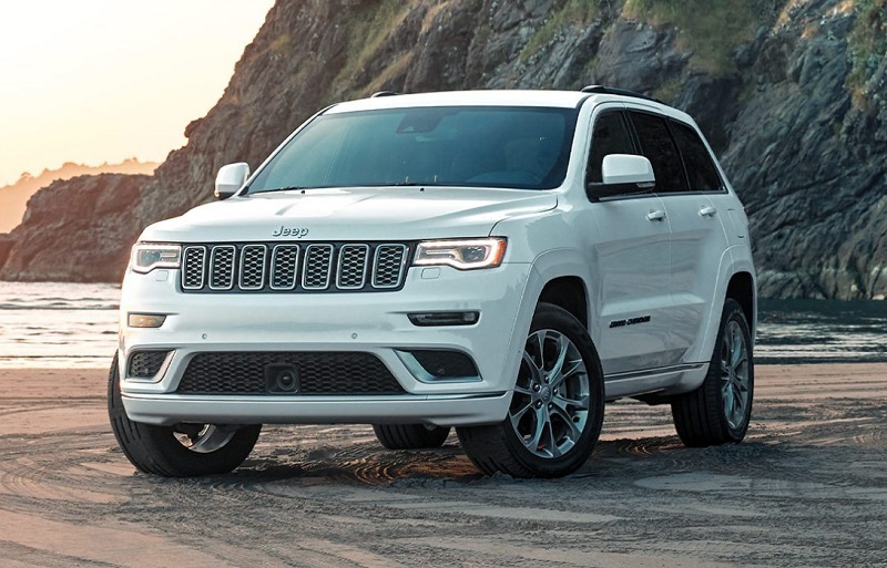 Los Angeles CA - 2020 Jeep Grand Cherokee's Exterior
