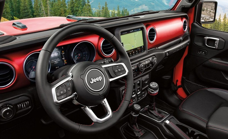 City of Industry CA - 2020 Jeep Wrangler's Interior
