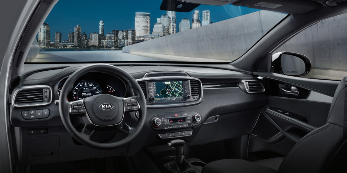 Burlington - 2020 Kia Sorento's Interior