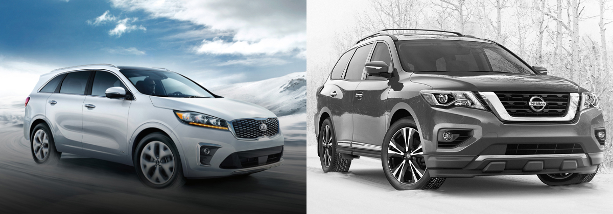2020 Kia Sorento vs 2020 Nissan Pathfinder near Toronto ON