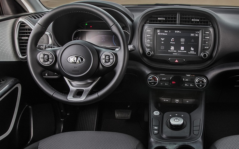 Detroit MI - 2020 Kia Soul EV's Interior