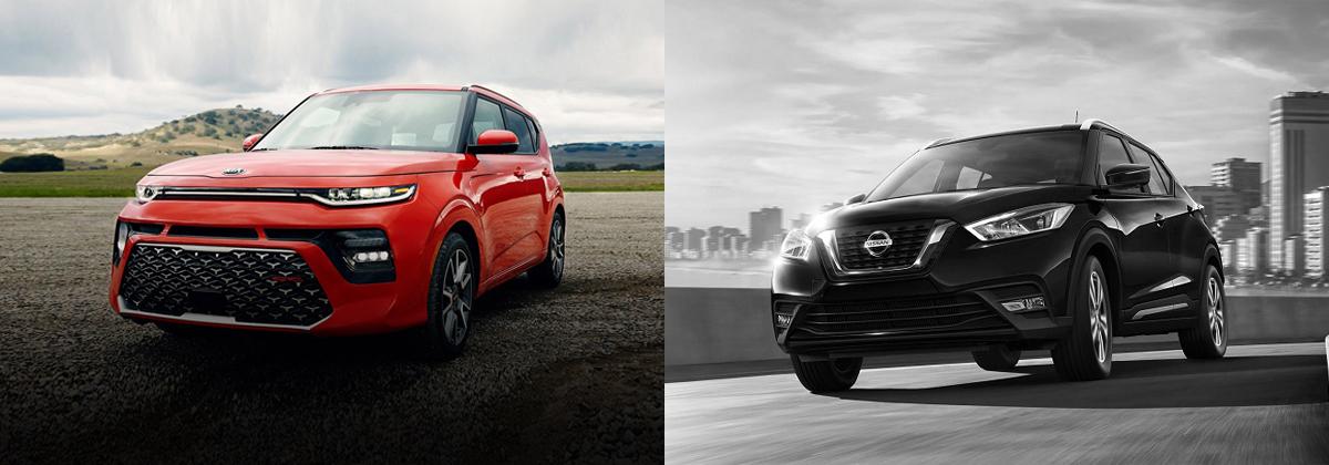 Compare 2020 Kia Soul vs 2020 Nissan Kicks in Mississauga ON