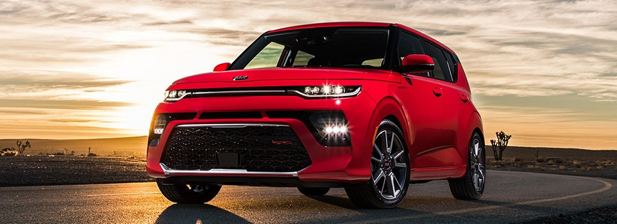 What are the trim levels for the 2020 Kia Soul