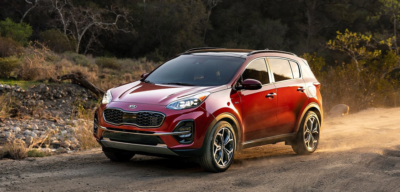 What are the 2020 Kia Sportage trim levels