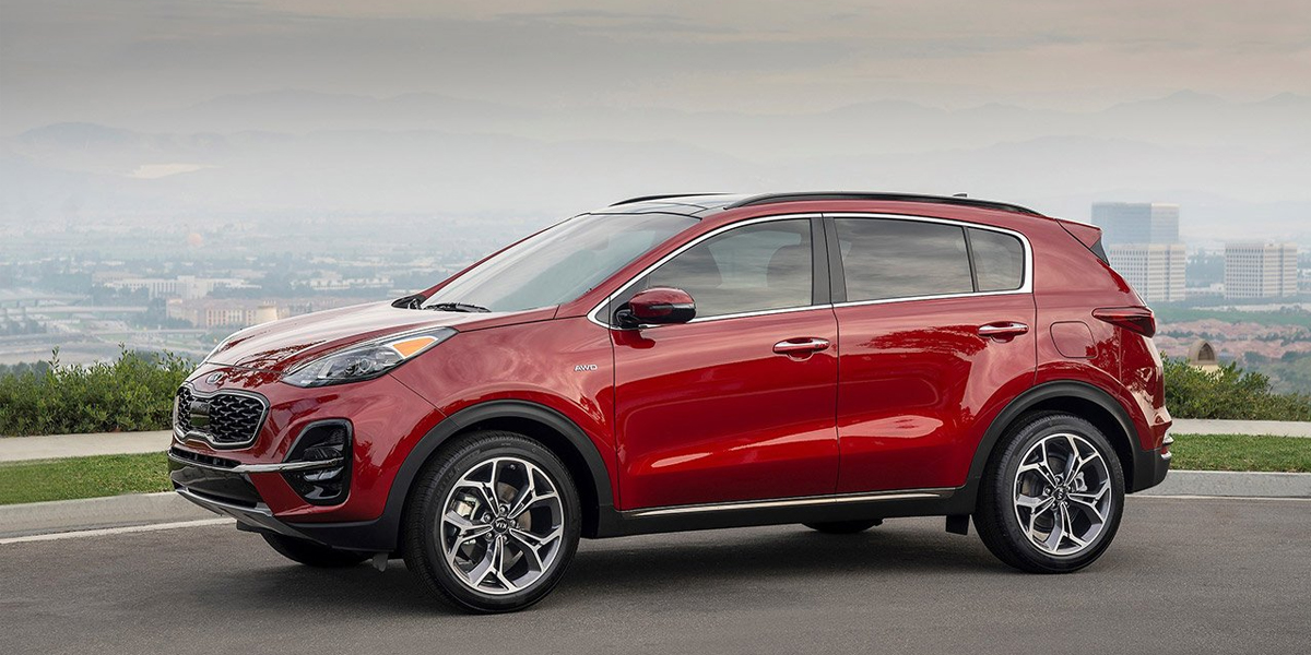 Research Trim levels on a 2020 Kia Sportage near Brampton ON