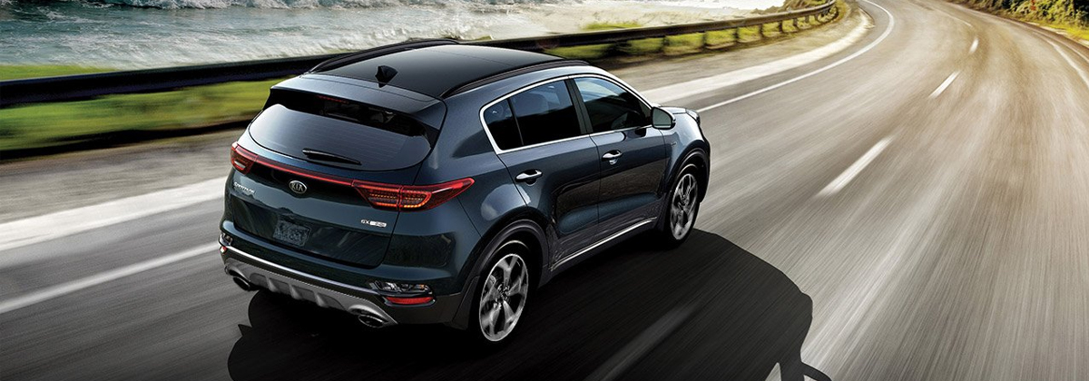 What are the trim levels on the 2020 Kia Sportage