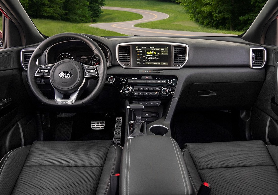 Novi MI - 2020 Kia Sportage's Interior