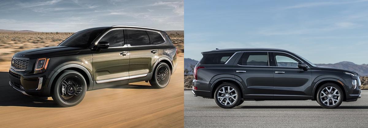 2020 Kia Telluride vs 2020 Hyundai Palisade in Burlington NC