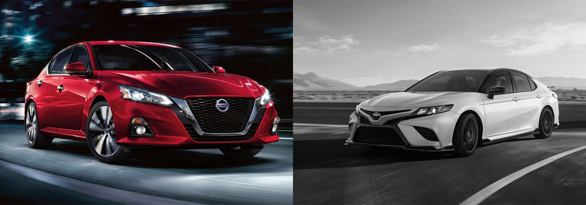Learn more about the 2020 Nissan Altima vs 2020 Toyota Camry in San Antonio TX