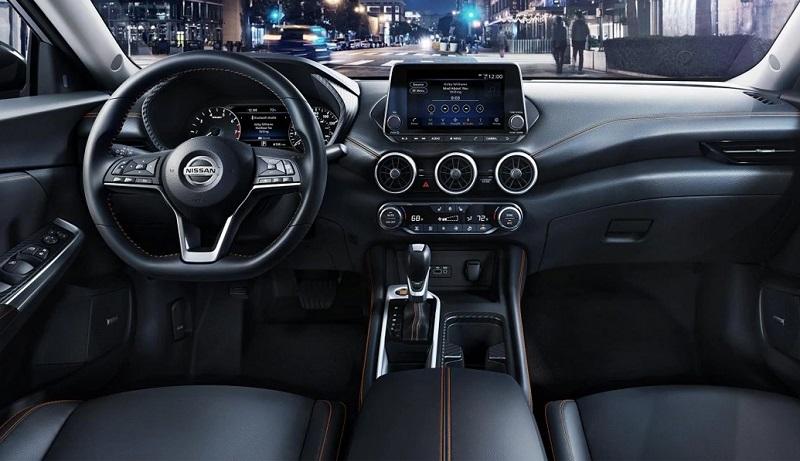 San Antonio Texas - 2020 Nissan Sentra's Interior