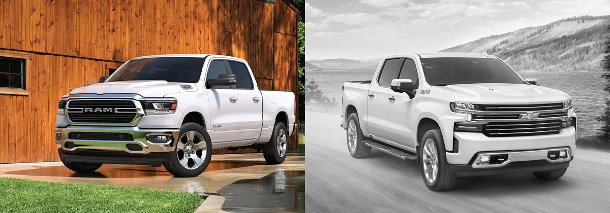 2020 Ram 1500 vs 2020 Chevrolet Silverado in Albuquerque NM