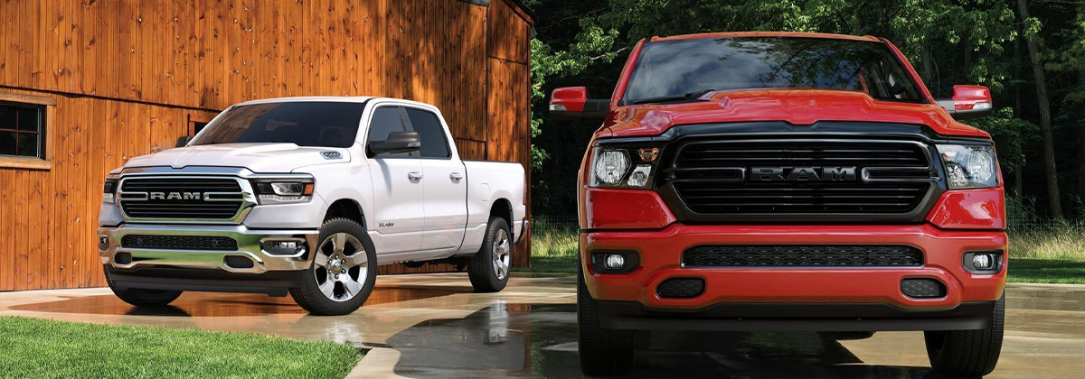 Discover the 2020 RAM 1500 near Davenport IA