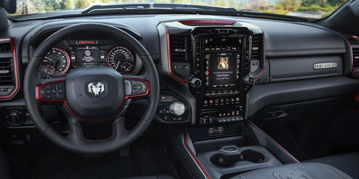 Iowa Review - 2020 RAM 1500 Interior