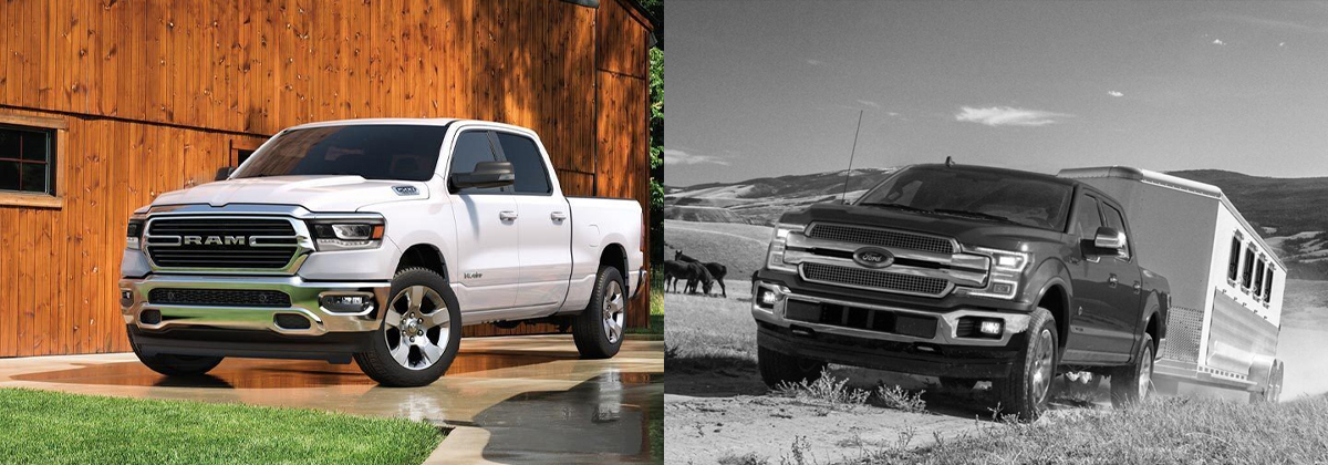 2020 Ram 1500 vs 2020 Ford F-150 near Fort Wayne IN
