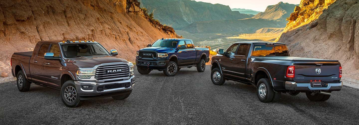 What are the trim levels on the 2020 Ram 2500 - Albuquerque NM