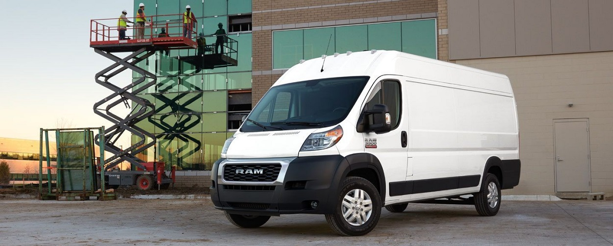 What are the trim levels on the 2020 Ram Promaster
