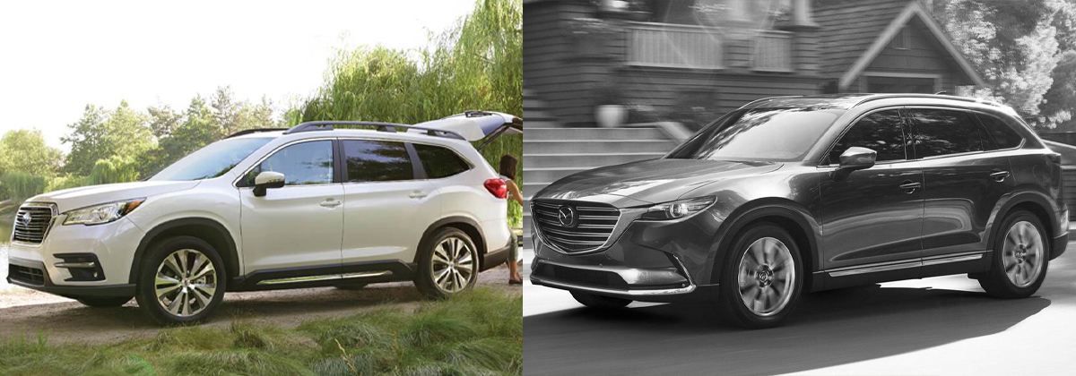 2020 Subaru Ascent vs 2019 Mazda CX-9 - Southfield MI