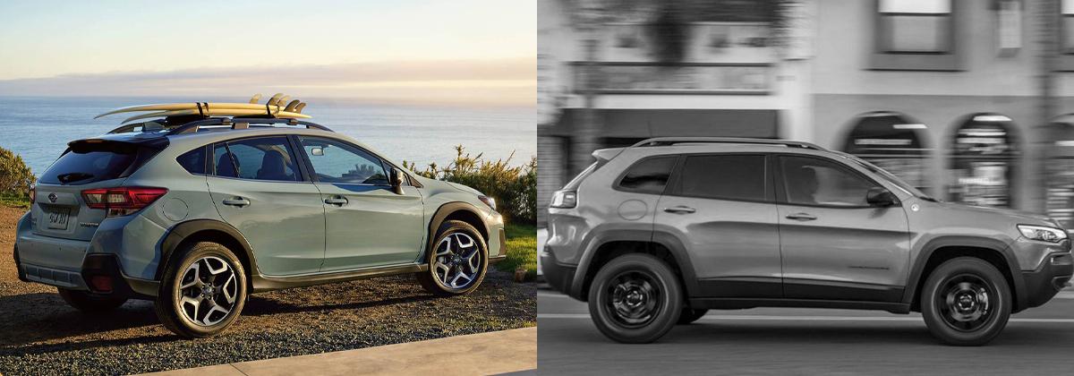 Explore the 2020 Subaru Crosstrek vs 2020 Jeep Cherokee comparison in Southfield Michigan