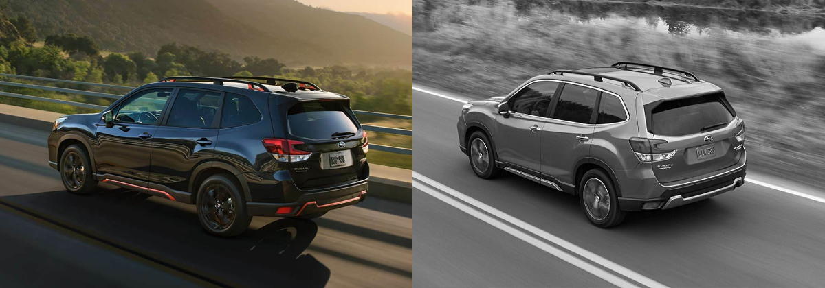 Whats New 2020 vs 2019 Subaru Forester